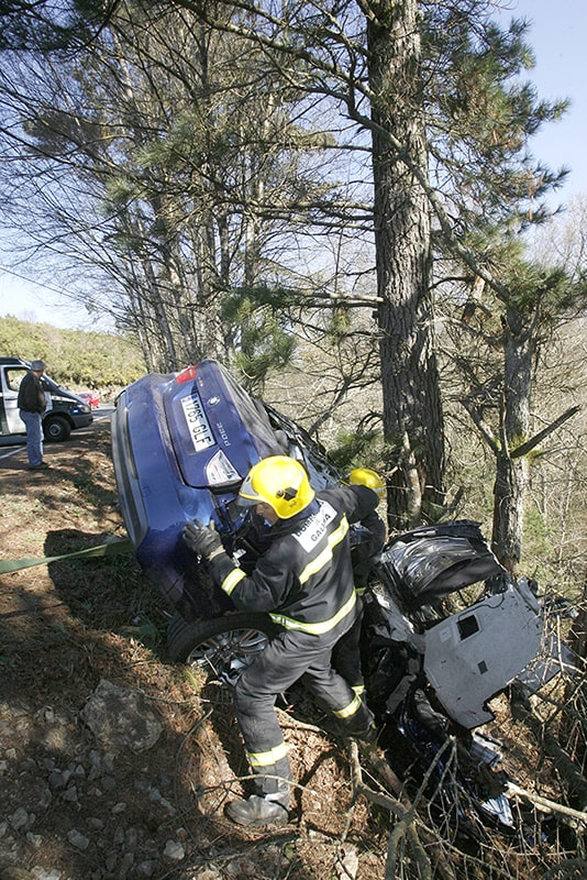 fotografo accidente de trafico